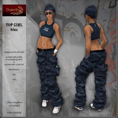 DANIELLE Top Girl - Blue'