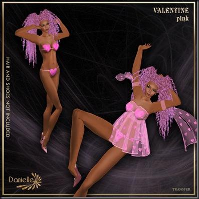 DANIELLE Valentine Pink (tr)'
