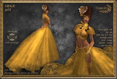 DANIELLE Grace Gold'