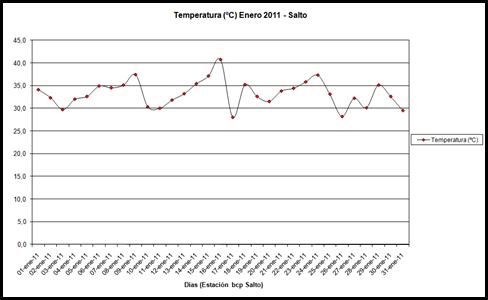 Temperatura (Enero 2011)