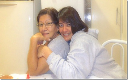 eu e mami