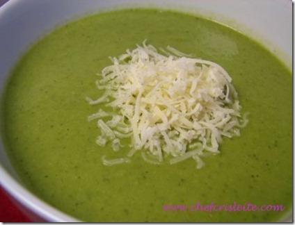 sopa creme de verduras