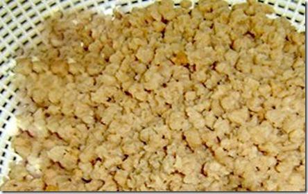 proteina texturizada de soja hidratada