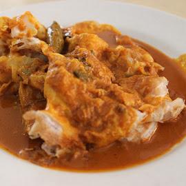 Malaysian favourite by Dura Zaman - Food & Drink Plated Food ( malaysian, favourite food, roti canai banjir, mamak, malaysian food )