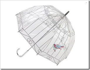 Birdcage brolly