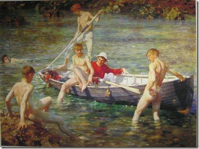 800px-Tuke,_Henry_Scott_(1858–1929),_Ruby,_gold_and_malachite,_1902