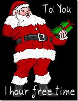 Free Time Santa