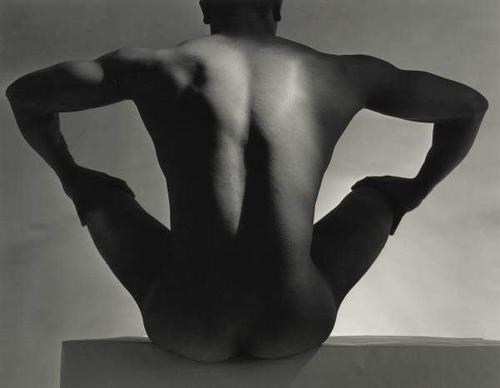 Male Nude, Back View, 1952.jpg