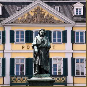 Statue of Beethoven in Bonn