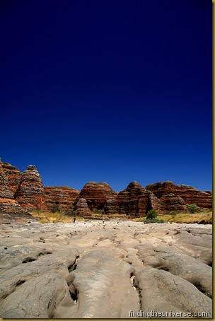 Part of the Bungle Bungles in Purnululu National Park - Western Australia. Inaccessible without a 4WD or a plane..