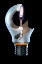 l'ampoule bougie