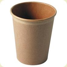 gobelet carton brun