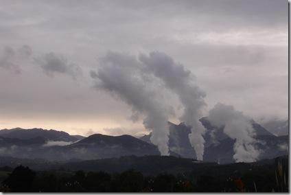 Arcoiris de humo