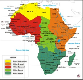 África Regiões Geográficas