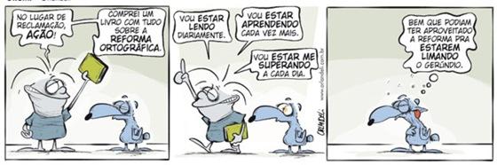 mudança na lingua portuguesa 1