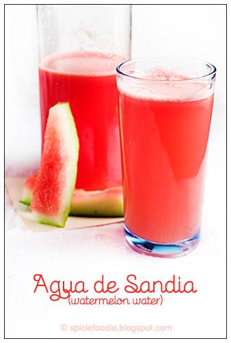 Watermelon Water, Agua de Sandia