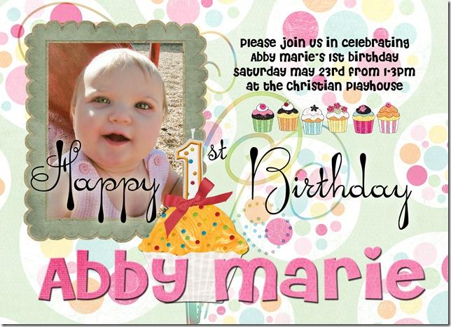 abby marie 1st