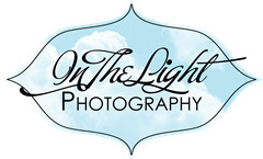 in the light photography logo