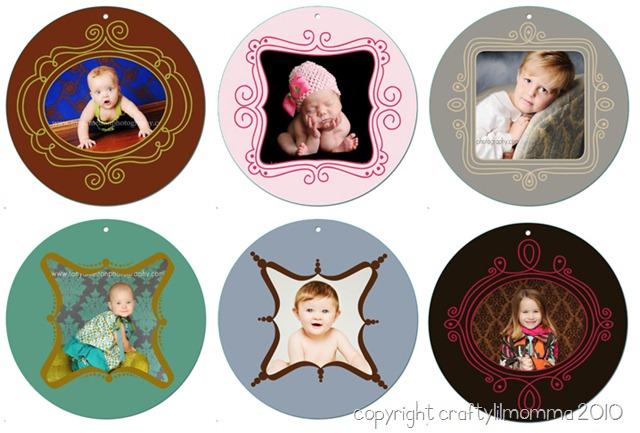 ornament card samples