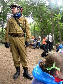 """Лагерь """"Зелёный Форт"""", около 6.00"""