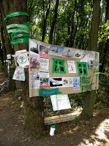 Новый лагерь защитников парка. Наглядная агитация (можно увеличить и рассмотреть)