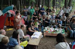 (с) Константин Нетребенко: Общий сбор в лагере Зелёного Фронта.