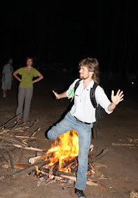 (с) Сергей Кищенко: Ночь на Ивана Купала в лагере защитников парка