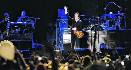 Paul McCartney en Argentina 11/11/2010