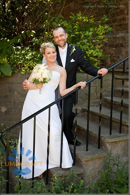 Bridal portrait of Erica and Aaron by David A. Gilmour LPPO, Lumacraft Photography