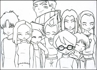 Request__Code_Lyoko_Heroes_by_Snakealien