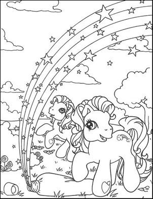 pequeño pony colorea-13