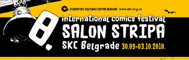 8. međunarodni salon stripa, SKC, Beograd