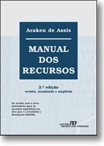 Manual dos Recursos. Araken de Assis.