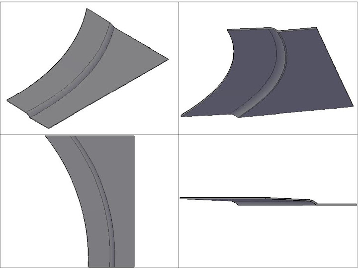 [討論]簡單的幾條線要做成薄殼5mm厚的實體,cad有解嗎? 3Dflame
