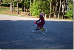 Ari riding bike _041110 357 no training whee