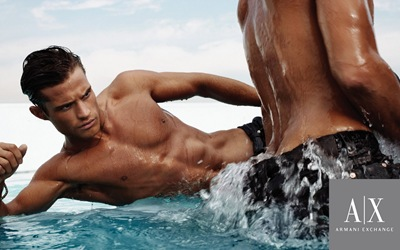 VGLMEN.com | Ambrose Olsen by Tom Munro for Armani Exchange, 2007