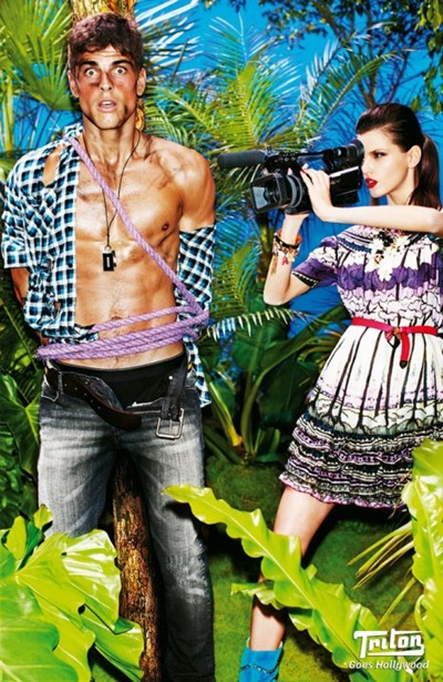 Evandro Soldati and Alicia Kuczman by Tony Kelly for Triton, 2010