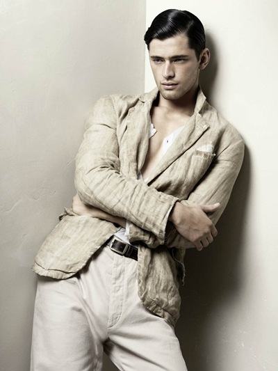Sean O'Pry for Zara S/S 2010