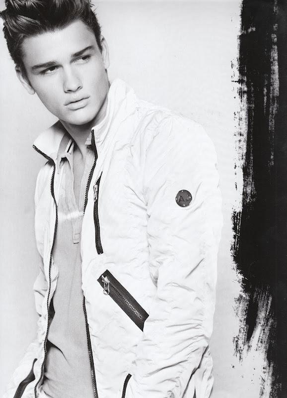 VGL | Simon Nessman for Armani Jeans S/S 2010