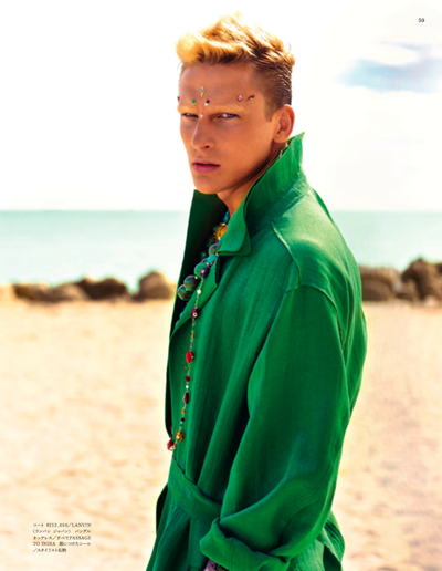 VGL | Alejandro Rodriguez by Mariano Vivanco for Vogue Hommes Japan
