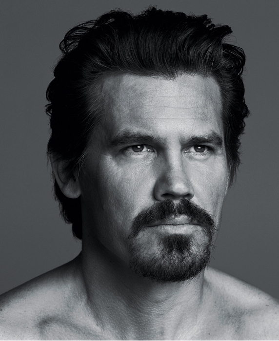 Josh Brolin by Inez & Vinoodh for New York Times Style Magazine 3/14/10