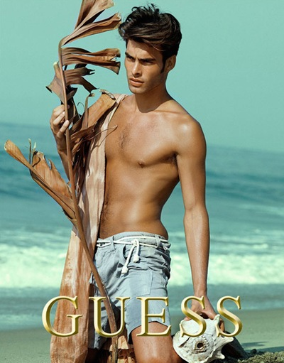 VGLMen.com | Jon Kortajarena by Yu Tsai for Guess, S/S 2008