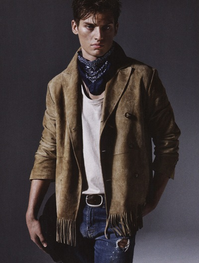 Vladimir Ivanov by Massimo Pamparana for GQ Style Germany, S/S 2010