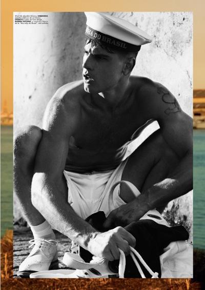 Evandro Soldati by Giampaolo Sgura for Hercules, April 2010