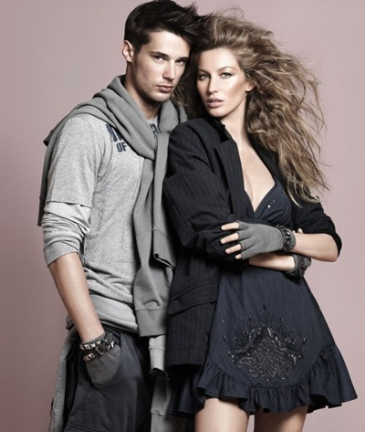 Gisele Bundchen + Danny Schwarz by David Sims for Colcci A/W 2010