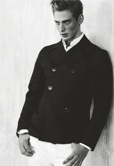 Andreas Sjödin for J Lindeberg S/S 2010 book