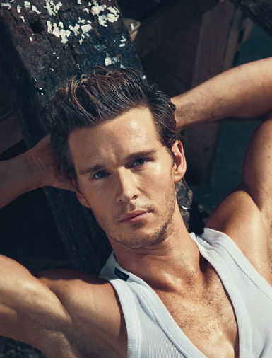 Ryan Kwanten by Norman Jean Roy for Details, May 2010