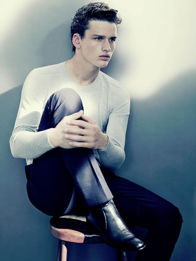Simon Nessman by Paolo Roversi for Cerruti 1881, 2011