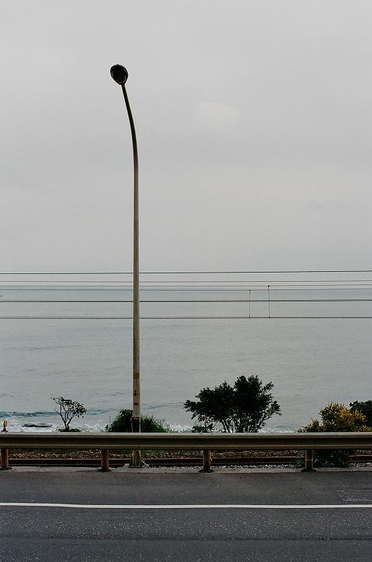 冬天的大里海邊