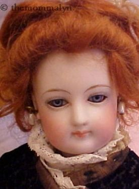 Antique bisque doll French Fashion